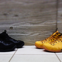 話題のAIR FOAMPOSITE ONE PRM WHEAT & TRIPLE BLACK が入荷致しました!!